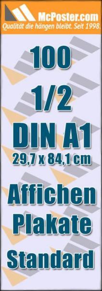 Affichen Plakate 1/2 DIN A1 29,7 x 84,1 günstig online kaufen bei McPoster.com