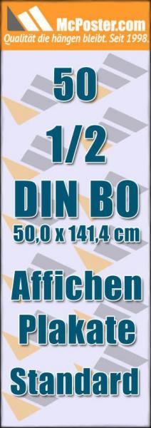 Affichen Plakate 1/2 DIN B0 50,0 x 141,4 günstig online kaufen bei McPoster.com