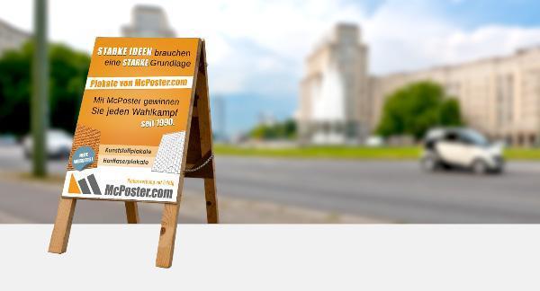 Hochhängen der Plakate 210cm Unterkante günstig online kaufen bei McPoster.com