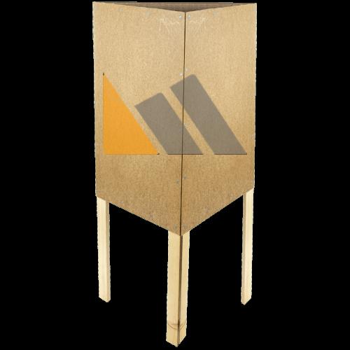 Plakatständer im Überblick Dreieckständer | McPoster.com