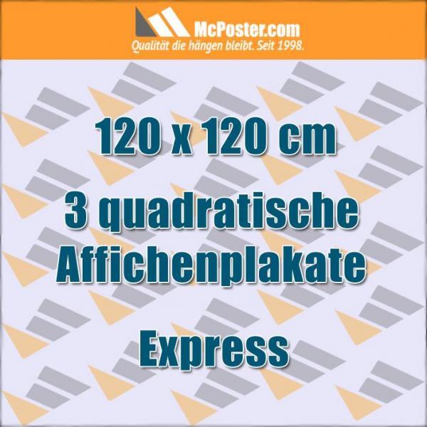 Quadratische Affichen Plakate 120 x 120 cm günstig online kaufen bei McPoster.com