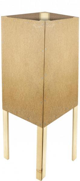 Holz-Viereckständer zum Bekleben mit Plakaten DIN A2 günstig online kaufen bei McPoster.com